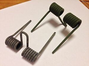 TWO (2) NOS Hold down arm SPRINGS for Ammo Can Holder Tray M23 - 50 cradle mount