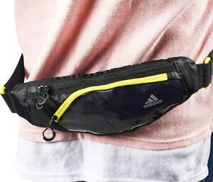e6417cb87341 adidas Run Waist Bag Belt Pack Sacks Yellow Running Sports Pouch ...