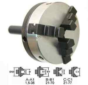 22709-GG-Tools-Dreibackenfutter-65mm-Zylinderschaft-12mm