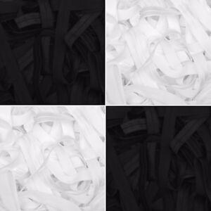Fold-Over-Elastic-10mm-3-8-034-15mm-5-8-034-25mm-1-034-Soft-Baby-Headband-Tutu-FOE