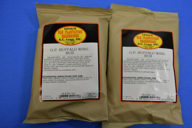 Buffalo Chicken Wing Rub from Legg Old Plantation for for ...