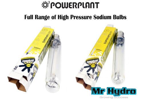 600w /& 1000w High Pressure Sodium Bulbs Powerplant Super HPS 250w 400w