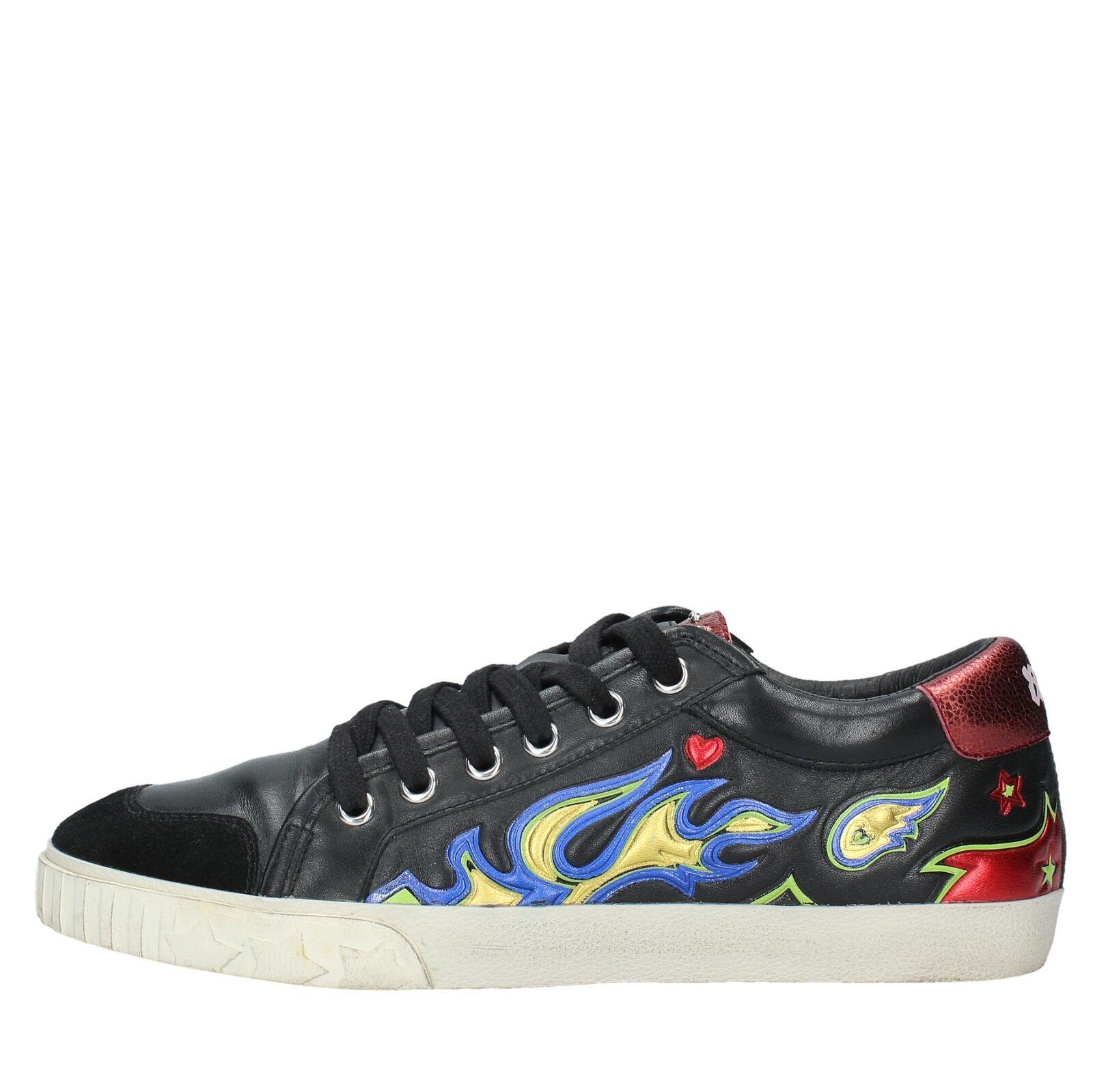 NV1173 Scarpe Scarpe Scarpe scarpe da ginnastica ASH donna Nero c046c2