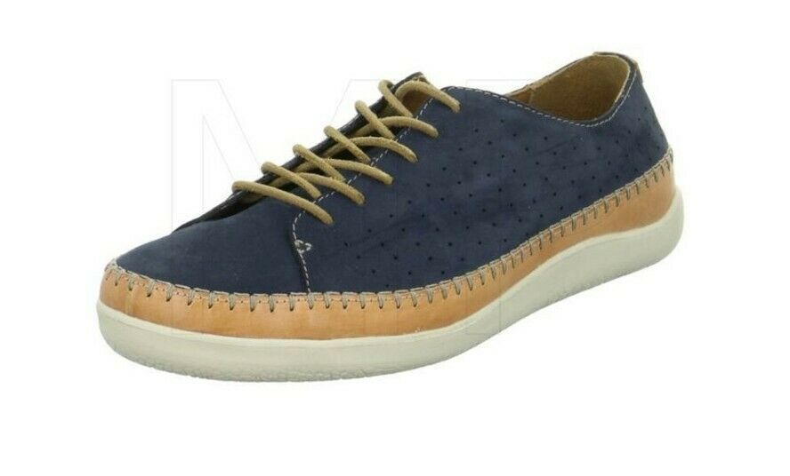 Clarks Veho Edge Nubuck Leather Lace-up Sneakers Shoes Navy uk 11 eu 46
