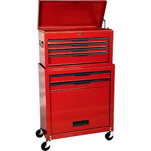 Craftsman Rolling Tool Cabinet Chest 6 Drawer Box Storage ...