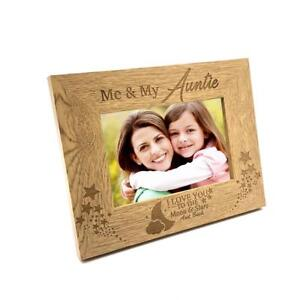 Me And My Auntie Love You To The Moon Photo Frame Gift Fw163 Ebay