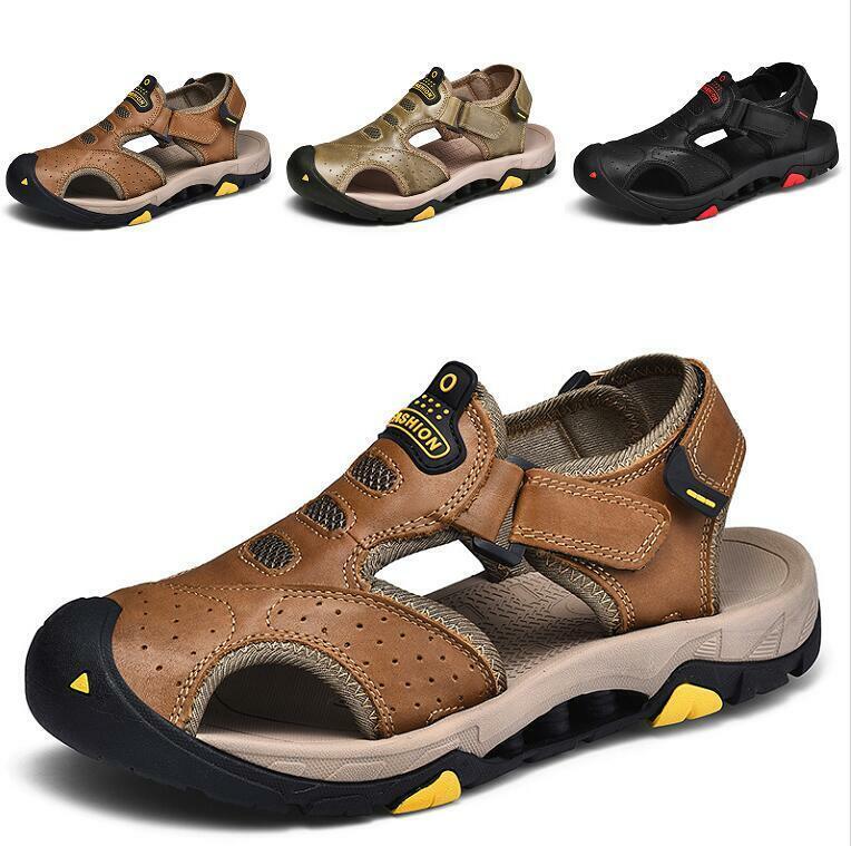 Men's Charol Playa Huecos Resbalón En Sandalias Zapatos informales Transpirable Ocio