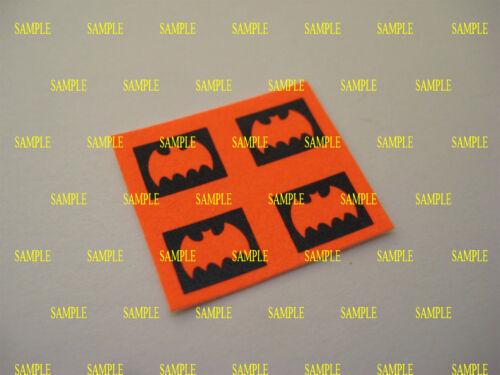 Juniors Batmobile Corgi 69 Original Style Flourescent Red Stickers B2G1F