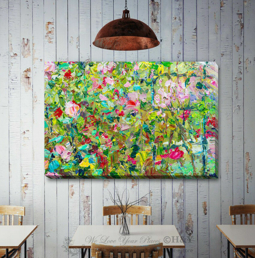 Abstract Stretched Canvas Print Framed Wall Art Home Office Shop Decor Gift A350