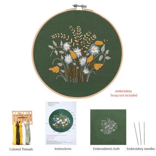 Embroidery Cross Stitch Kit Set For Beginner Starter Handmade Craft Tools DIY 2