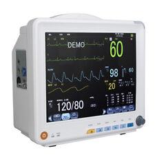 Ccu Icu Vital Signs Monitor Color Patient Monitor 6 Parameter Cardiac Monitoring