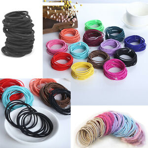 10-Pcs-Women-Girl-Elastic-Hair-Ties-Band-Ropes-Ring-Ponytail-Holder-Accessories
