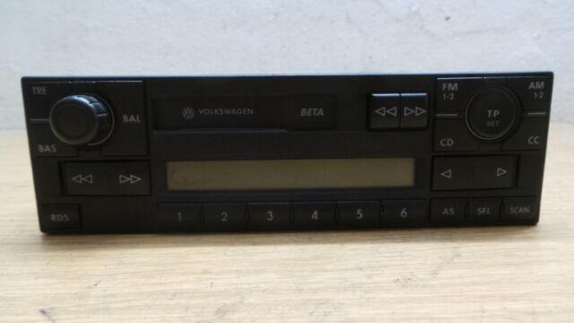Radio Kassette BETA VW Passat 3BG Golf IV Bora 1J0 035 152 E  1J0035152E