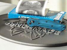 Benchmade 941BC1BL Prototype Warren Osborne Axis MCP Blue 154CM Folding Knife