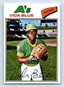 1977-O-Pee-Chee-Must-See-Condition-Vida-Blue-75