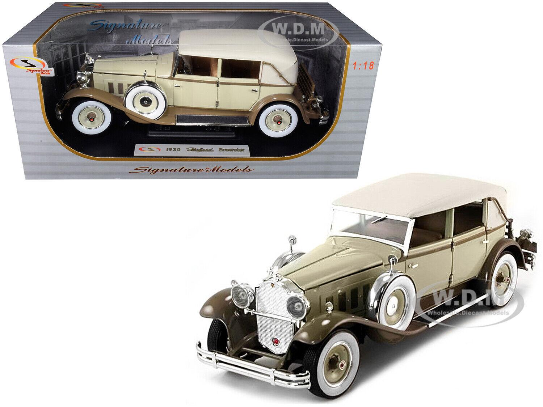 1930 Packard Brewster Hellbraun & Kaffee braun 1 18 Druckguss Car