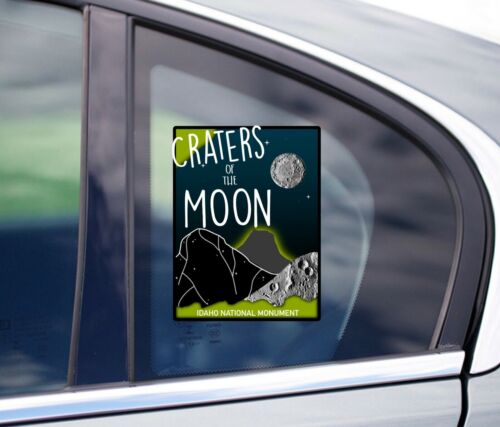 Craters Of The Moon National Monument Printed Sticker Car Decal Vinyl
