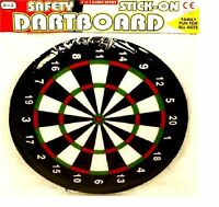 Kids Children Dart Board Safe Stick On Velcro Full Size Realistic Gift Present