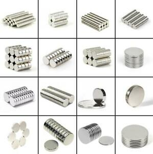 100 x Starke Neodym Magnete 10x5★Aktionspreis★Super Magnete Pinnwand Büro Magnet
