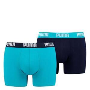 zuverlässiger Ruf meistverkauft Trennschuhe Details zu Puma Herren Boxershorts 2er Pack Unterhosen Shorts Unterwäsche  Wäsche marine