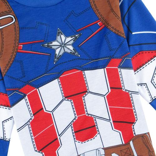 Kid Boy Hulk Pajamas Sets Toddler Thor Iron Man Sleepwear Children The Avengers