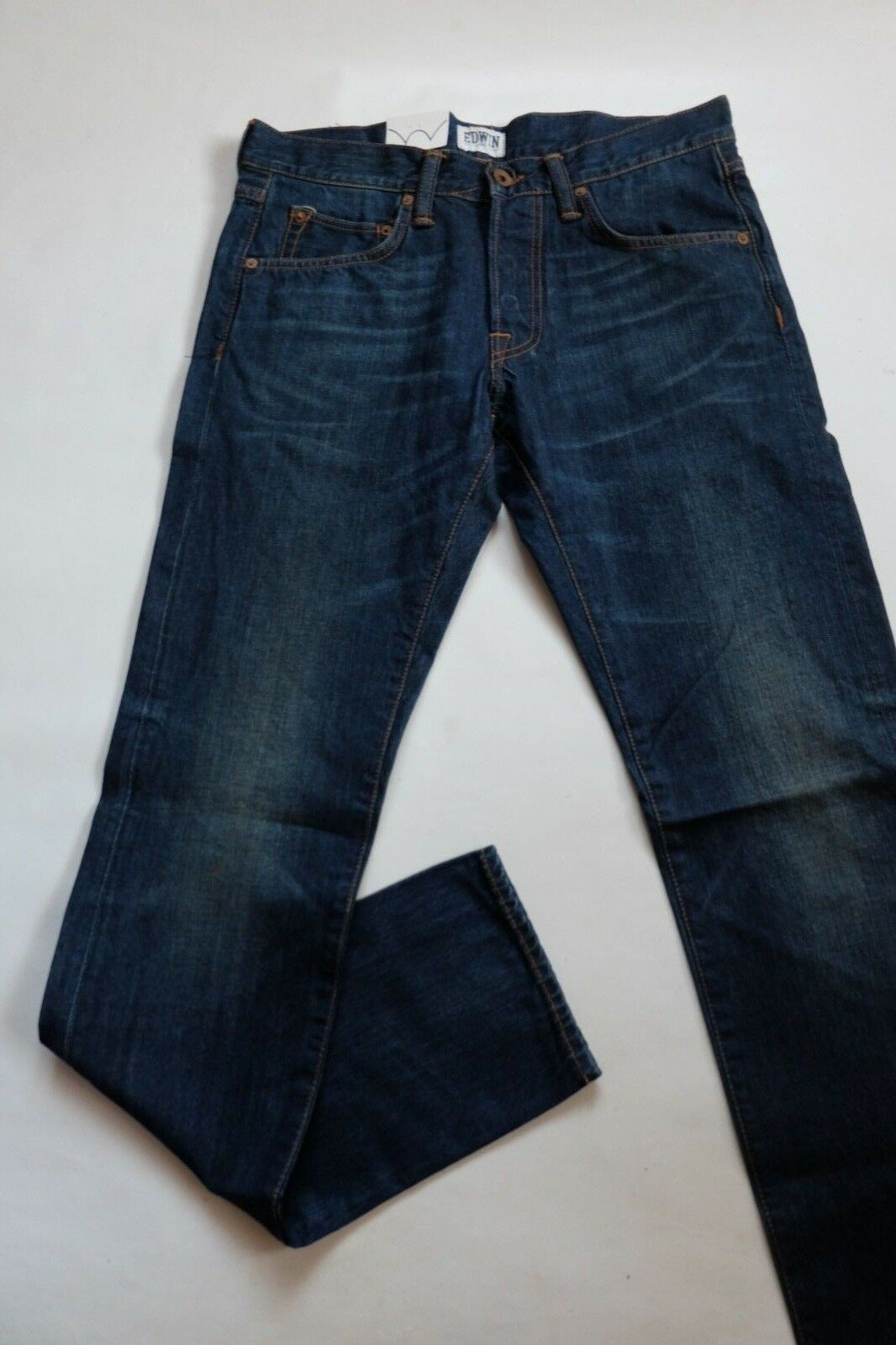 JEANS EDWIN ED 55 RELAXED TAPERED (compact -mid used) W38 L34 ( i017783 36)