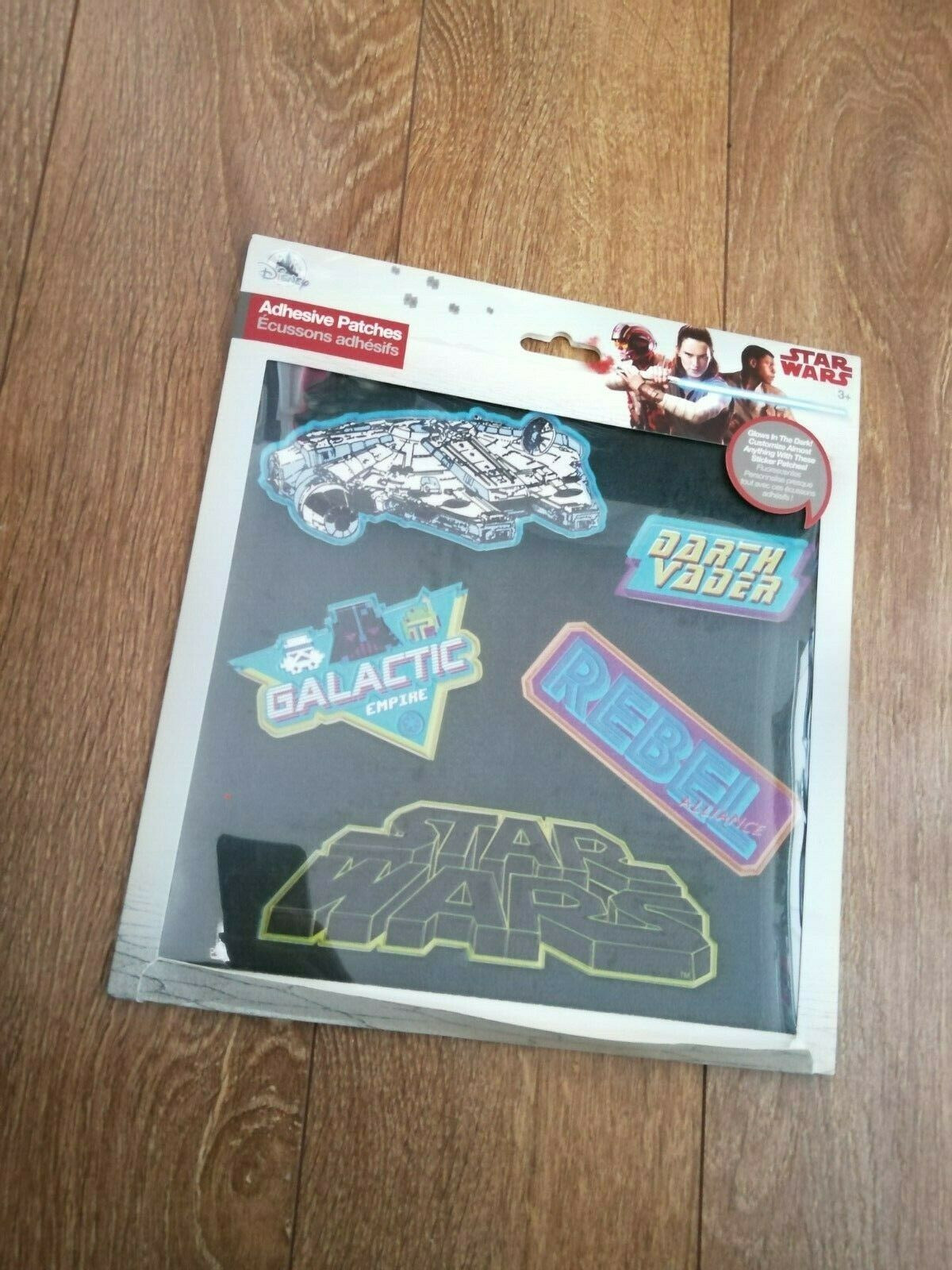 ADHESIVE PATCHES STAR WARS, GLOW IN THE DARK, NEW LAPTOP, SMART PHONE, TABLET