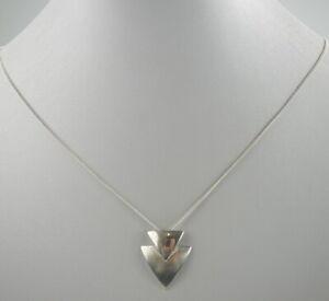 eindrucksvolle-Venezianer-925er-Silber-Halskette-amp-Anhaenger-Vintage-4-80g