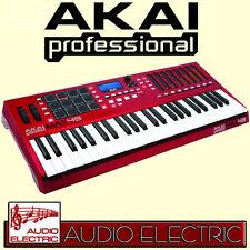 AKAI Pro MAX 49 USB Master Keyboard Controller Step Sequenzer CV Gate MIDI