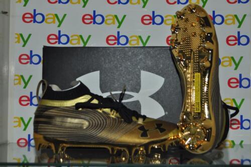 Under Armour Spotlight MC Men's Football Cleats 3020675 900 Metallic Gold NIB
