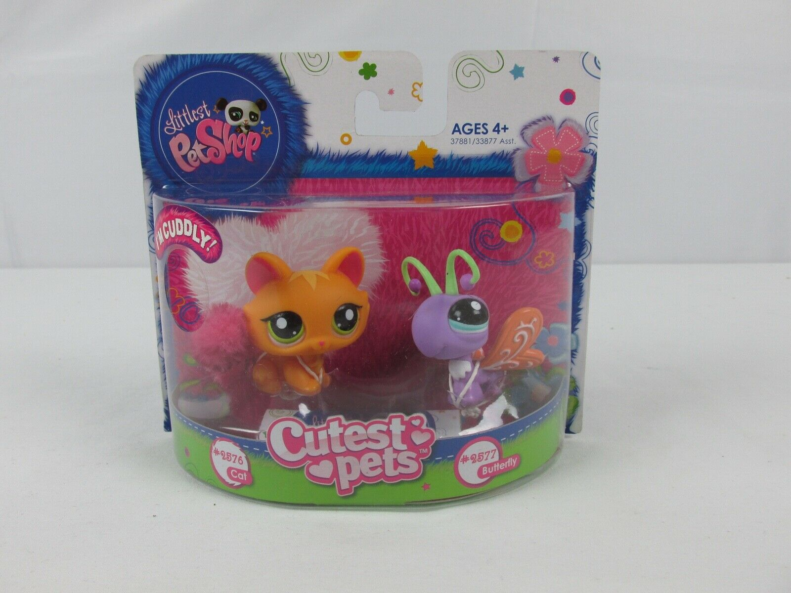 Littlest Pet Shop 2011 Cat & Butterfly  LPS LPS LPS NIP NOS 37c0c7