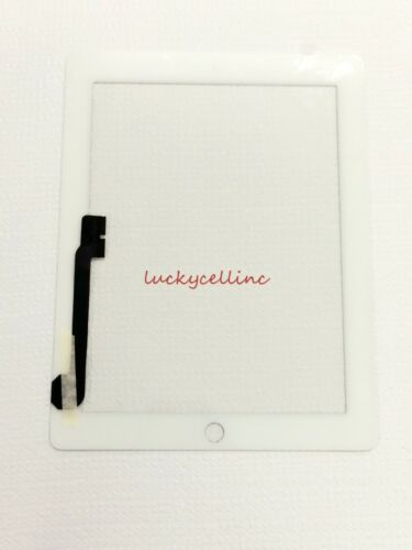 New White Touch Screen Glass Digitizer ReplacementFor iPad 3 4 USA Seller