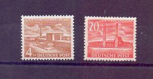 Berlin-1953-Berliner-Bauten-MiNr-112-113-postfrisch-Michel-70-00-517