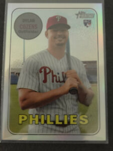 2018-Topps-Heritage-THC-634-Dylan-Cozens-Phillies-Chrome-Refractor-Card-51-569