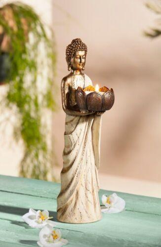 """Teelichthalter /""""Buddha/"""" Deko Kerzenständer Dekoration Teelichthalter Windlicht"""