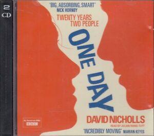 One-Day-by-David-Nicholls-2CD-Audio-Book-Abridged-Julian-Rhind-Tutt-FASTPOST