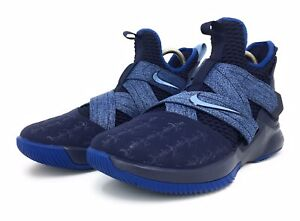 the best attitude 8bb35 30e94 Image is loading Nike-Lebron-Soldier-XII-Mens-AO2609-401-Work-