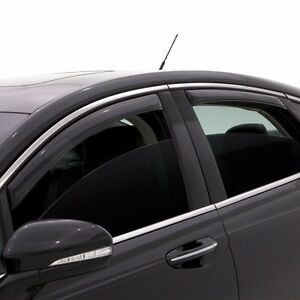 Fits Honda Accord Sedan 2013-2017 AVS In Channel Window Visors Rain ... 36fa933057a