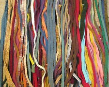 150 Wool Strips for Primitive Rug Hooking size #6 Many Colors Stash Builder