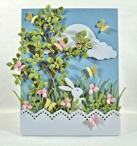 TINY FLOWERS DIE-Impression Obsession//IO Stamps DIE140-D -Spring-Steel Dies