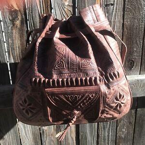 Moroccan-women-leather-handbag-purse-shoulder-bag-messenger-great-gift