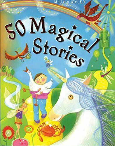50 Magical Stories (512-page fiction), Vic Parker, Very Good, Paperback