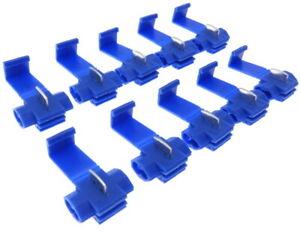 10x-Bornier-Raccords-Rapides-Voleur-Bleu-Connecteurs-Cable-Embranchement-2-5mm