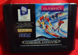 WInter-Plympics-Lillegammer-039-94-U-S-Gold-1991-SEGA-Mega-Drive-PAL