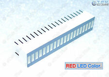 1 pcs RED 20-Segs LED BARGRAPH [for LED VU Meter Arduino Light Bar Graph] - USA