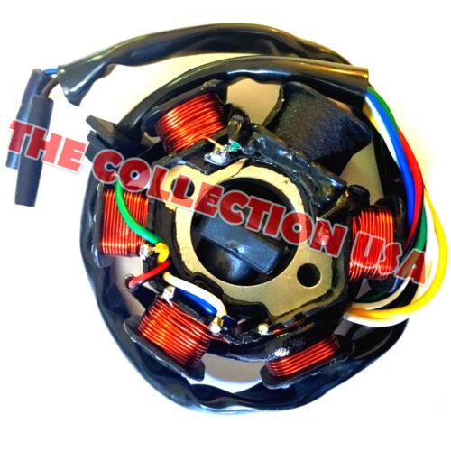 Stator W// Pickup Tomberlin Crossfire 150 150r Go Kart Cart Magneto Generator