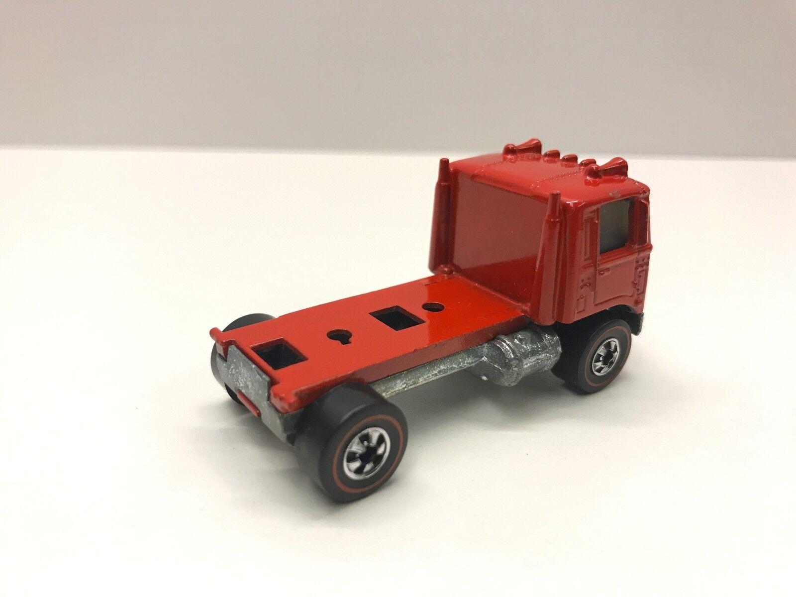 Hot Wheels Redline 1976 American Tipper Tipper Tipper 17078 Red Cabover (Beautiful) 58d92d