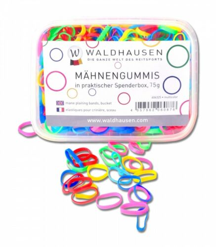 Mähnengummis in Spenderbox Waldhausen extra breit multicolor