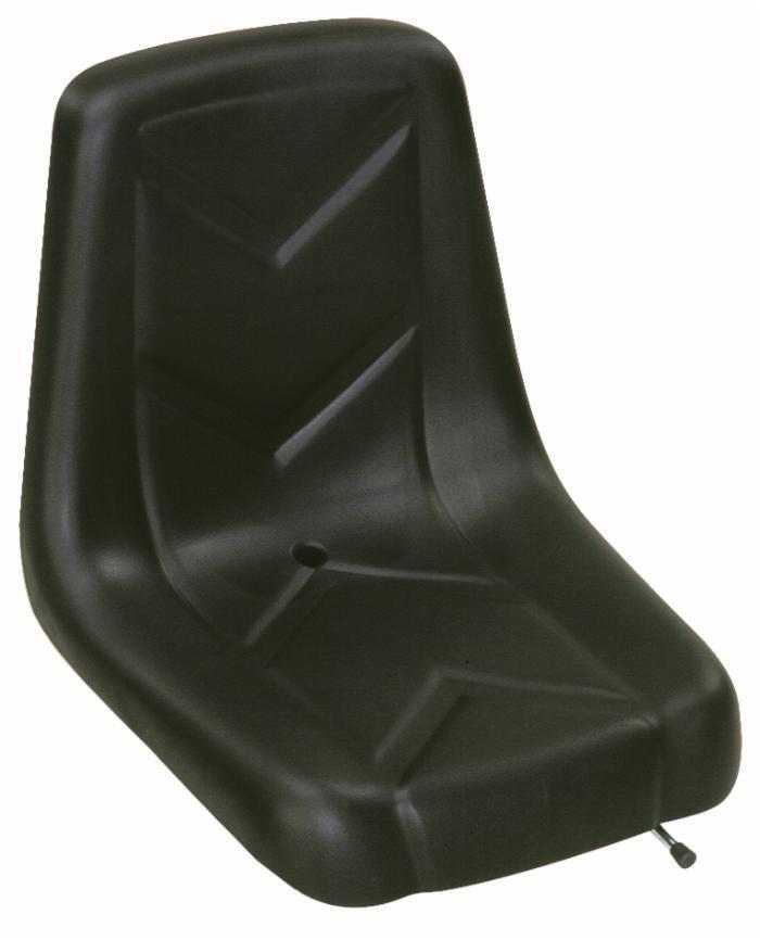 Sedile autopellante con guide larghezza 395 mm