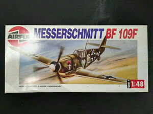 Messerschmitt-Bf-109-F-Airfix-Scale-1-48-Kit-04101-Super-Bausatz